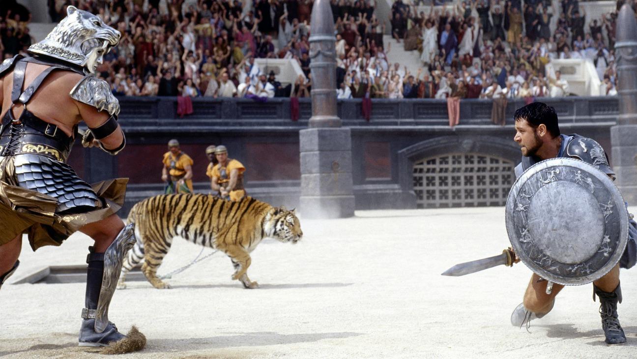 Nueve curiosidades gladiator