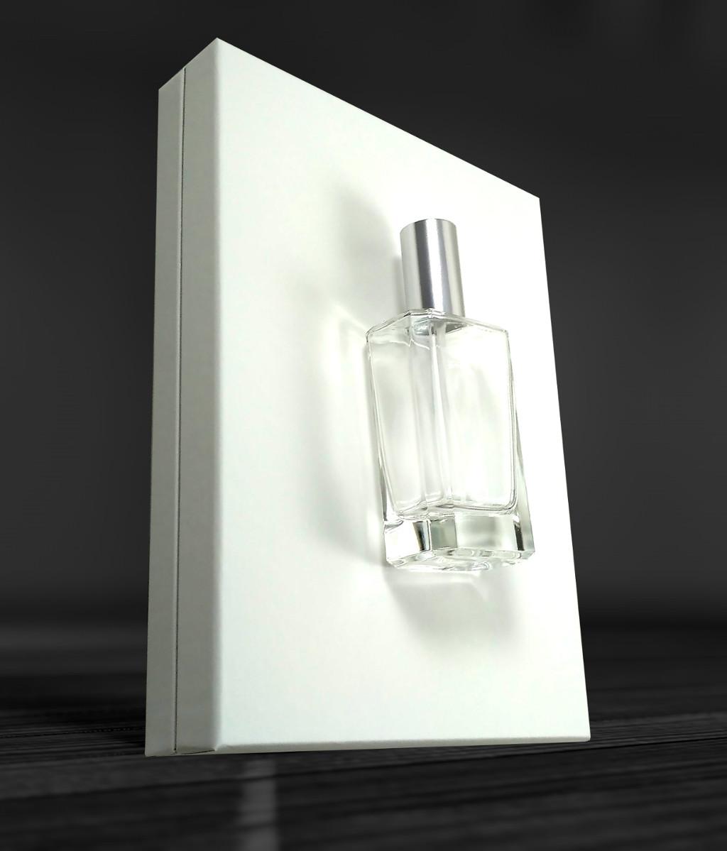 perfum caixa blanca